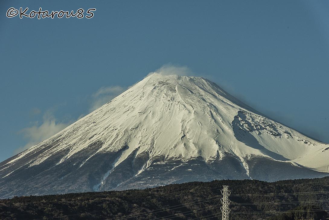 新幹線からの富士山 20160122