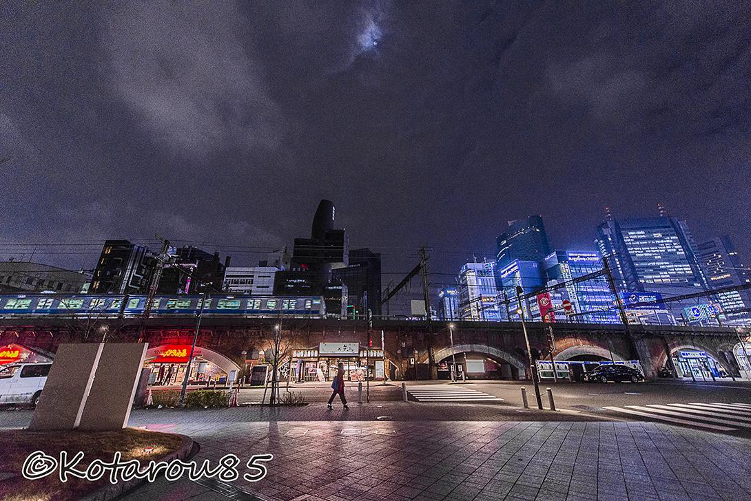 新橋遠景 20160126