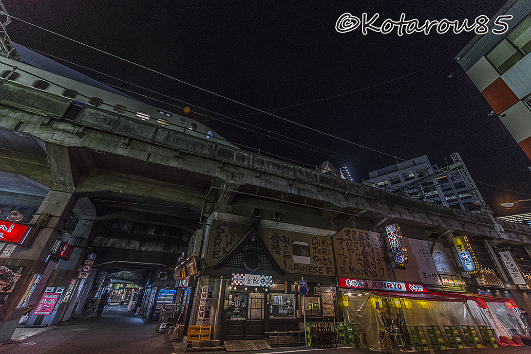 新幹線が通る 20160128