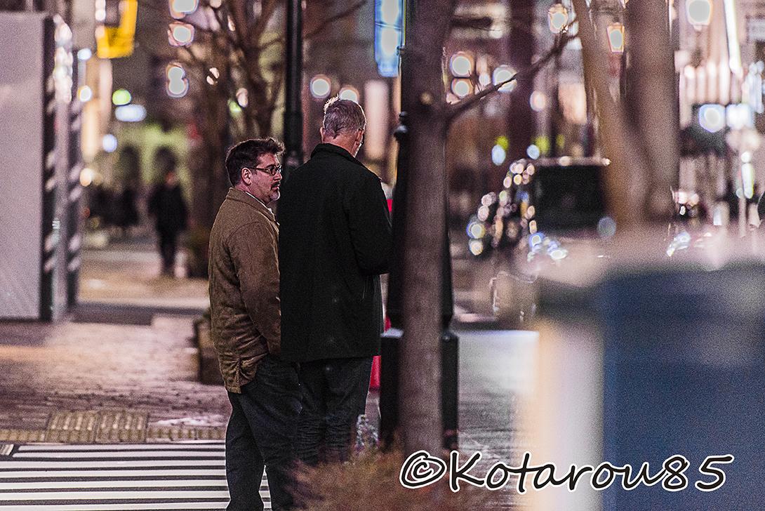 タクシーを待つ 20160129