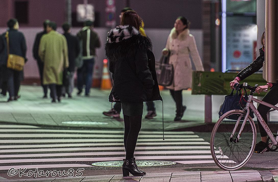 8丁目の横断歩道前で 20160129