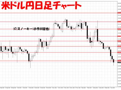 20160106米ドル円日足