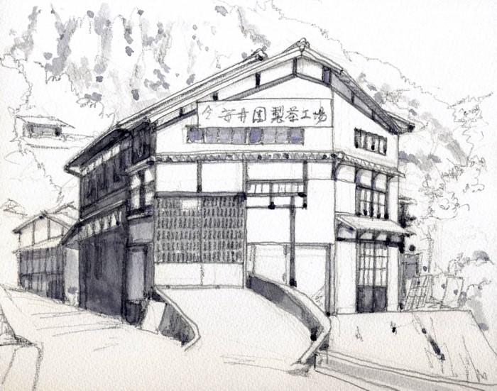 宇治田原の製茶工場 グリザイユ (700x551)