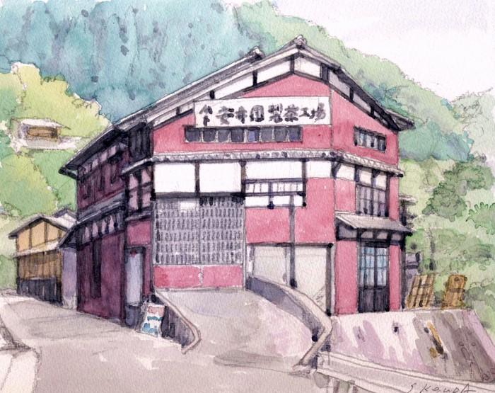 宇治田原の製茶工場 (700x555)