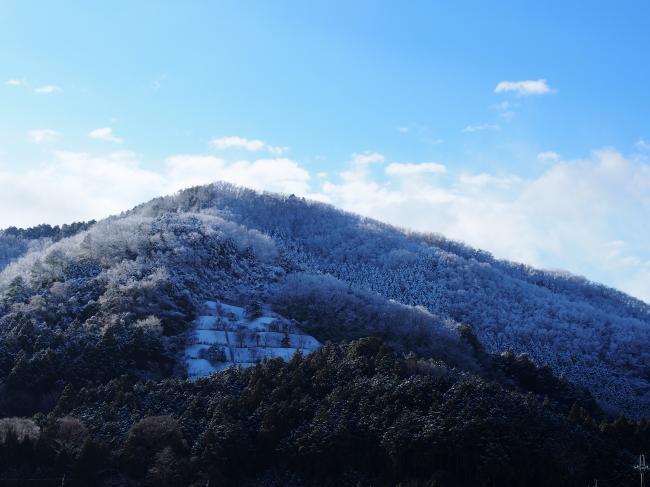 里山の雪景色 3