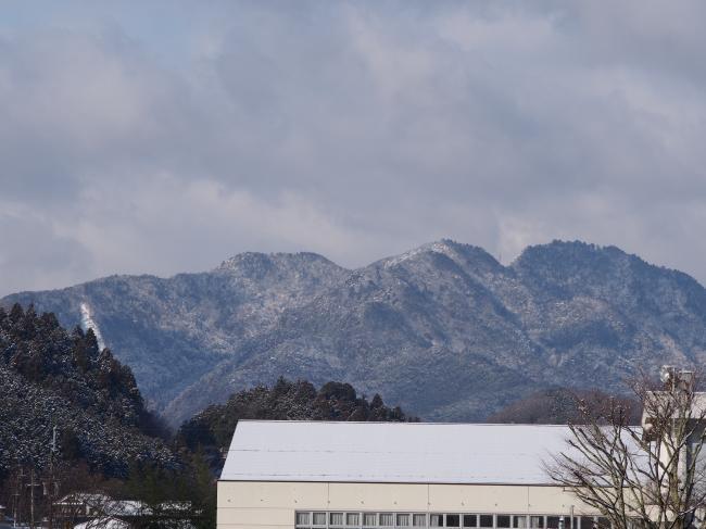 里山の雪景色 1