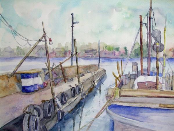A堺 湊漁港