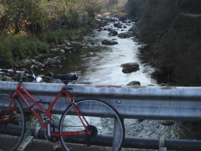 自転車の初漕ぎ