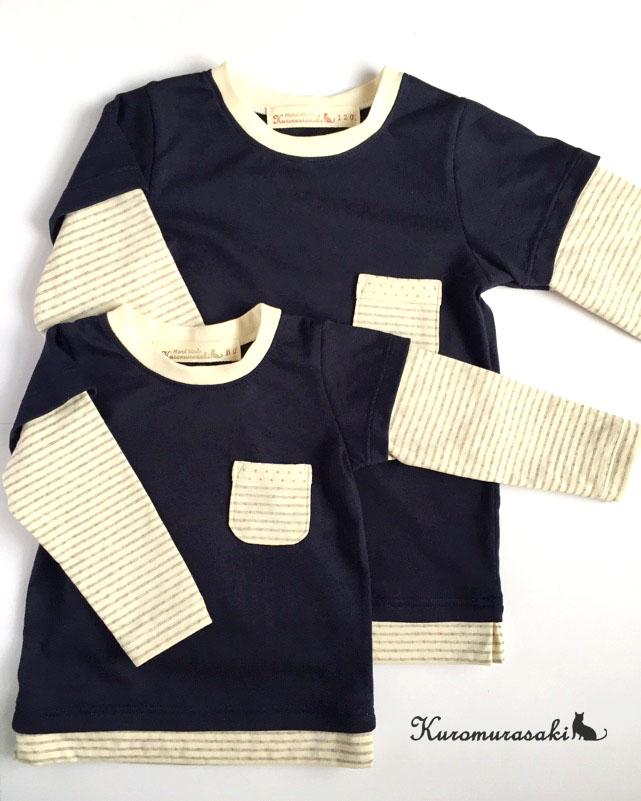 レイヤードTシャツ1-1