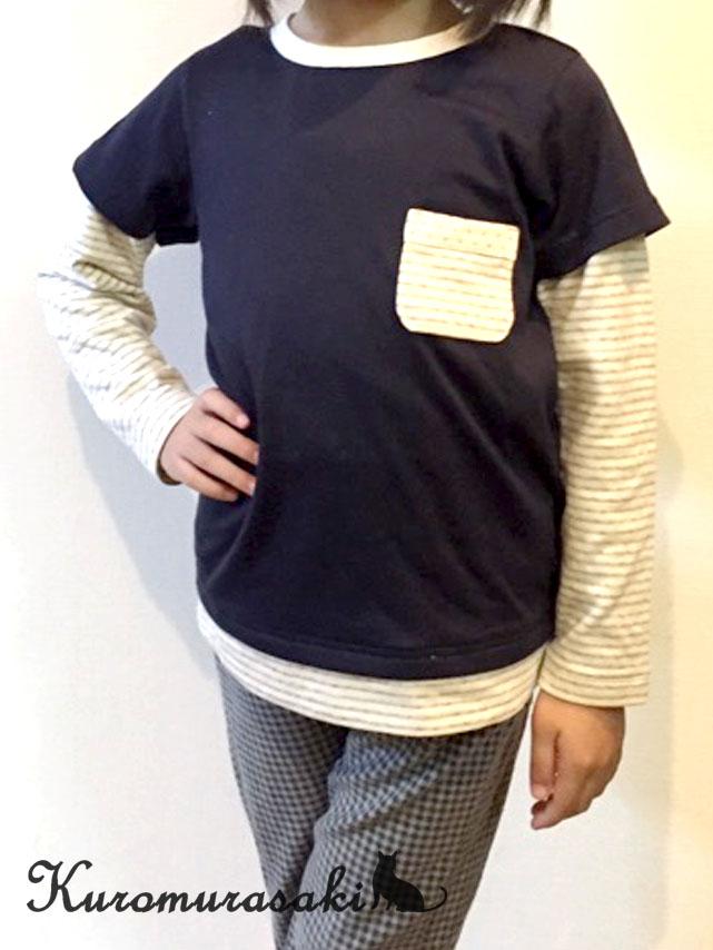 レイヤードTシャツ1-3