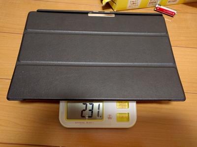 旧ケースの重量