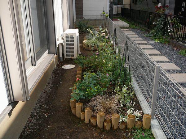 庭のビフォー画像