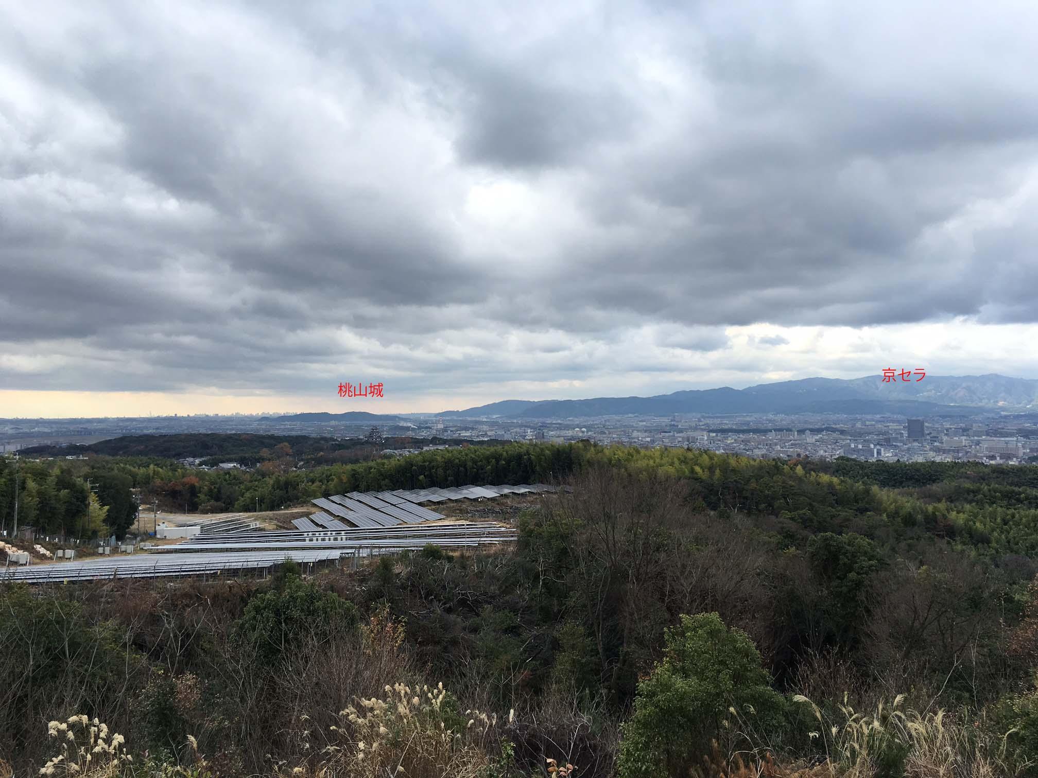 大岩展望台から20151227