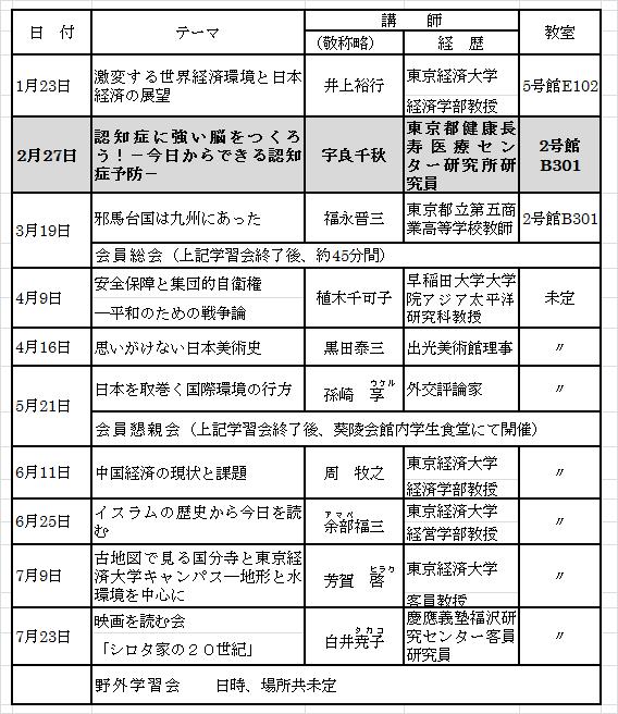 2月会報2016年スケデュール表
