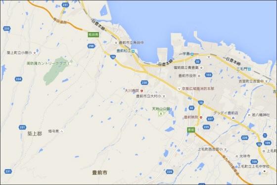 東九州道地図