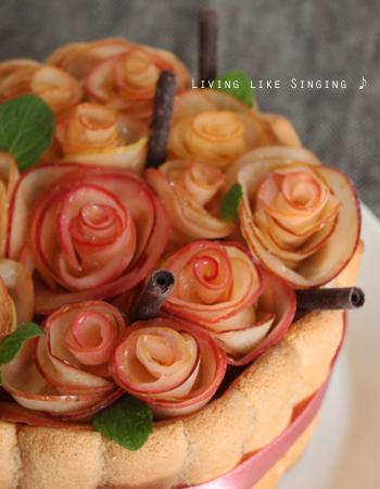 柚14歳バースデーケーキ②
