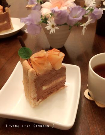 柚14歳バ―スデーケーキ④