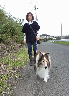 2日のお散歩