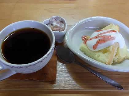シフォンとコーヒー
