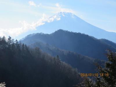 鉄塔から富士山