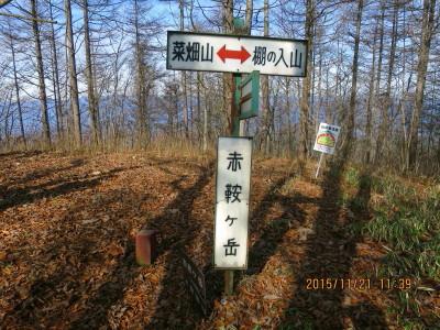 赤鞍ケ岳(朝日山)