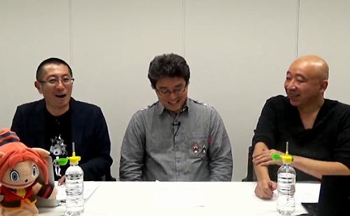 左:ルパン小島さん 中央:松井P 右:おしょうさん