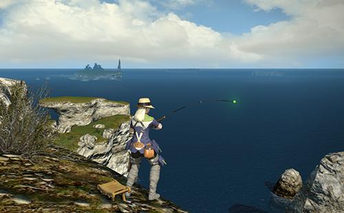 FF14でも釣り中は色々考えるのにむいてる