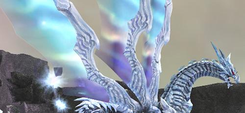 水晶龍が翼を!