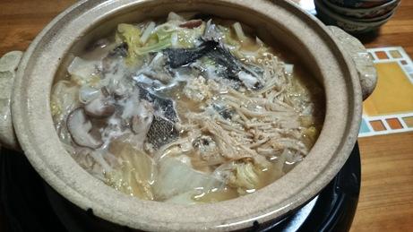 エゾメバル鍋 (2)