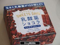 乳酸菌 チョコ