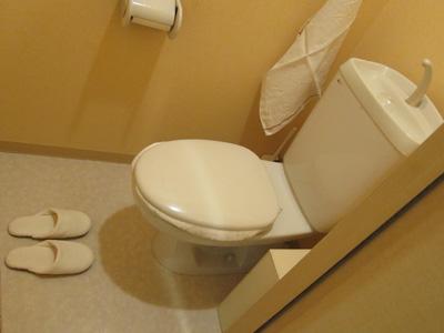 トイレ 旦那
