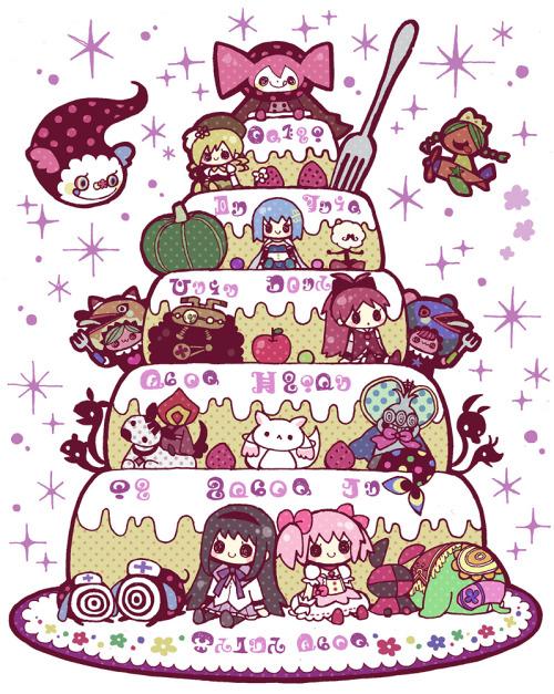 ほむらケーキ2