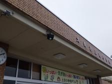 上庄小学校(避難所誘導灯)