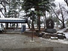 上庄中学校(避難所誘導灯)