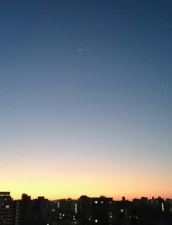 今朝の空 1