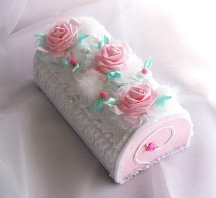 バラ3個ケーキs