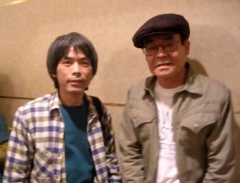 2009_04 18_辰巳ヨシヒロ氏と並んで
