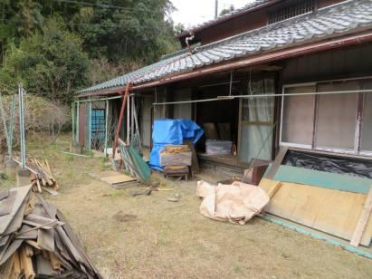 2016_01 20_母屋の解体・1