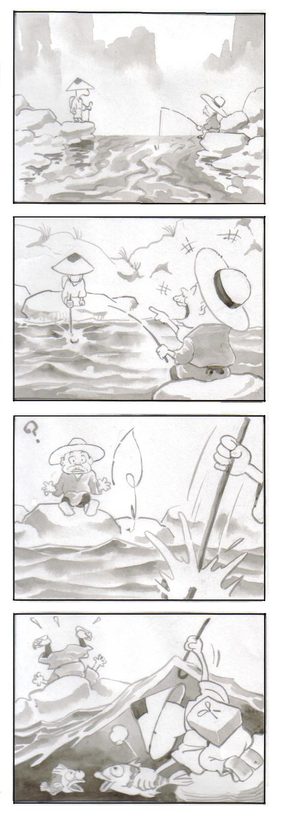 無敵坊主・釣りの術