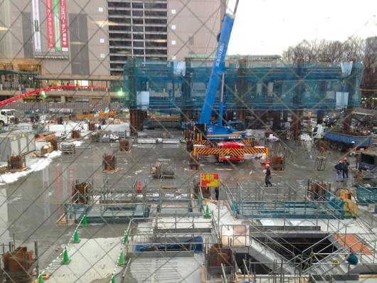 府中駅前開発 28年1月末