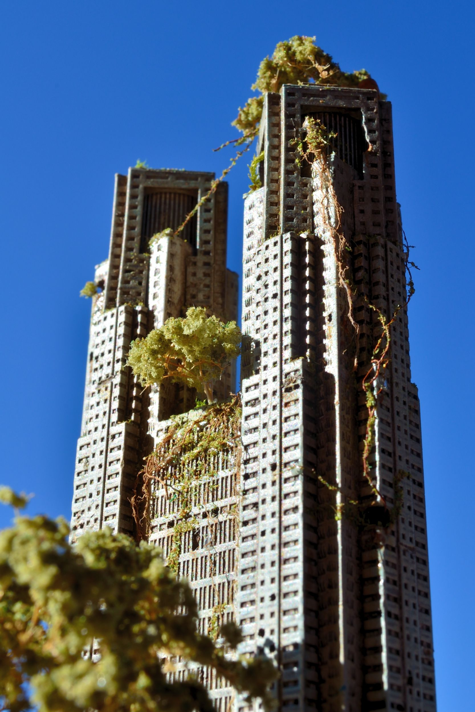 きながに・・・MASAKI's模型千葉しぼり写真と都庁制作手順