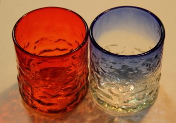 琉球ガラスコップ