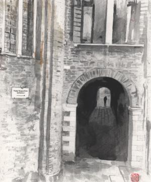 ヴェネツィアの街で