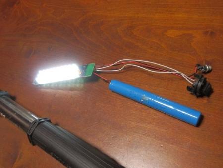 LED ワークライト 修理