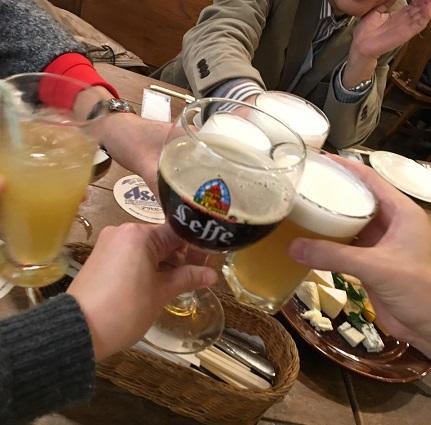 4 皆で乾杯