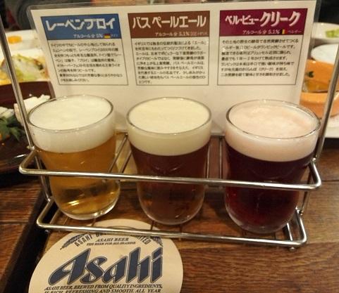 6 ビール飲み比べ