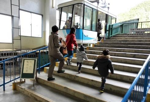 1 金剛山ロープウェイに乗車・千早駅