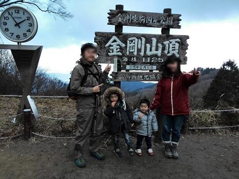 6 金剛山頂上・国見展望台