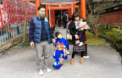 9 龍田大社へ初詣
