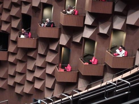 9 7階の3階席からの眺め バルコニーボックス
